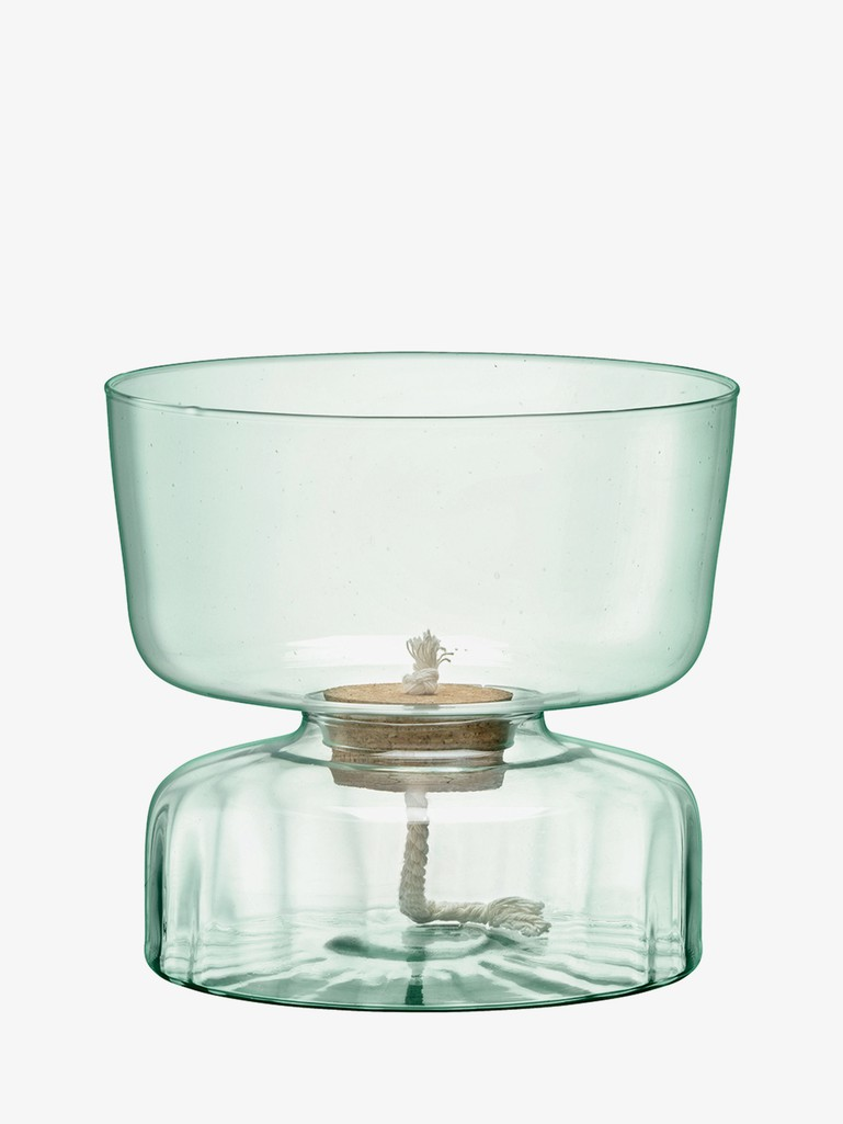 Canopy Self Watering Planter Clear/Part Optic H22cm